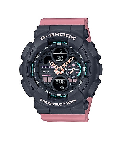 G-Shock S-Series Pastel Pink Analog Digital Watch