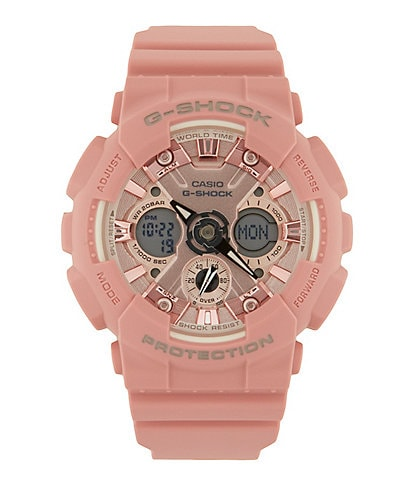 G-Shock S Series Pastel Rose Pink Ana/Digi Watch