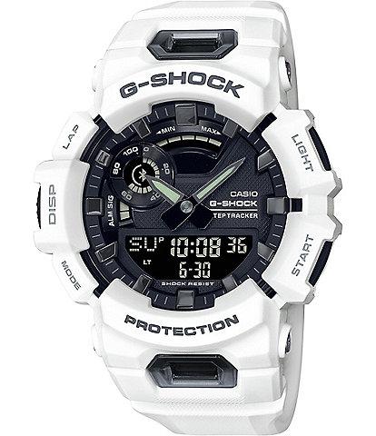 G-Shock White Ana Digi Shock Resistant Bracelet Watch