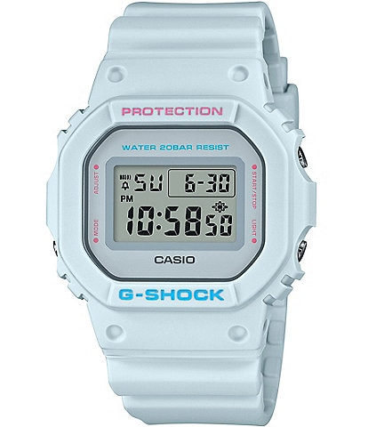 G-shock White Digital Shock Resistant Watch
