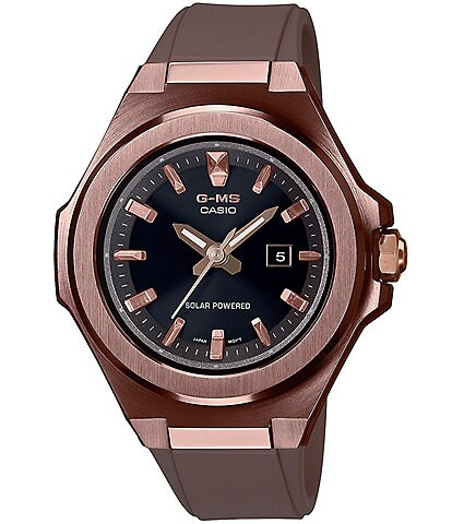G-Shock Women's Brown Stainless Steel and Resin Watch