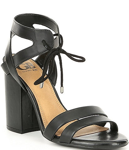 GB After-Hours Strappy Leather Sandals
