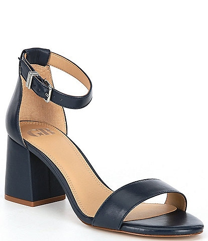 GB Block-Party Leather Two-Piece Sandals