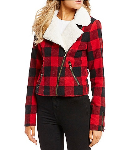 GB Buffalo-Check Plaid Jacket