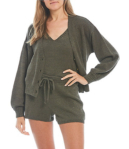 GB Button Front Cardigan