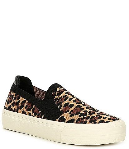 GB Cant-Even Leopard Print Flyknit Sneakers