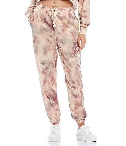 GB Coordinating Tie-Dye Ankle Print Joggers