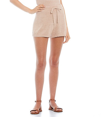 GB Coordinating Sweater Knit Shorts
