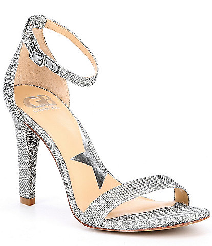 GB Ella-Quent Fabric Ankle Strap Dress Sandals