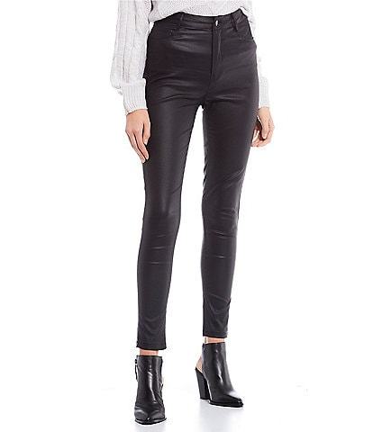 GB Faux Leather Pants