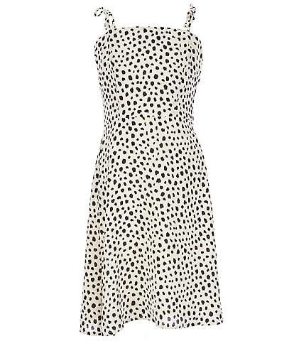 GB GB Girls Big Girls 7-16 Dotted Shift Dress