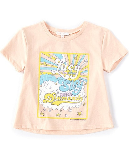 GB Girls Big Girls 7-16 Short-Sleeve The Beatles Lucy In The Sky Tee