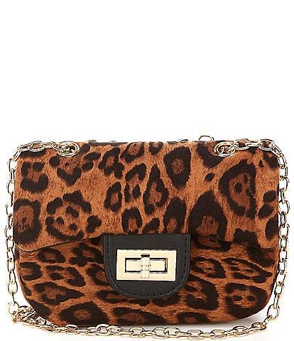 GB GB Girls Leopard Crossbody Handbag