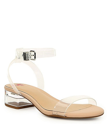 GB Girls' Shay-Girl Lucite Dress Sandal Youth