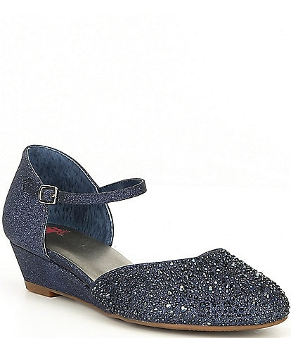 GB Girls 2 Piece Shimmer-Girl Hotfix Wedge