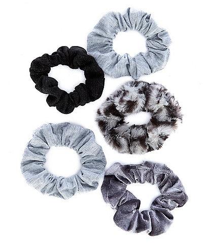 GB Girls 5-Pack Assorted Scrunchies