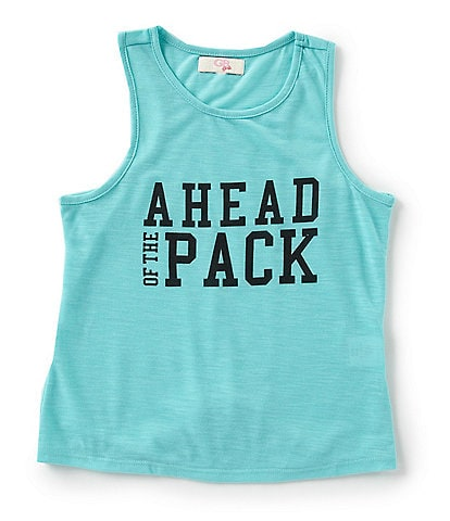 GB Girls Active Big Girls 7-16 Ahead of the Pack Knot Back Tank
