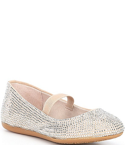 GB Girls' Addie Jeweled Ballet Flats Infant