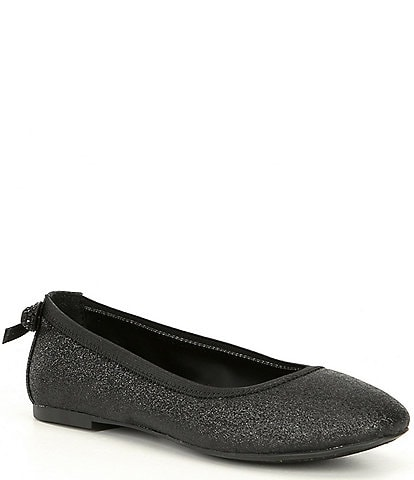 GB Girls' Barre-Girl Glitter Ballet Flats Youth