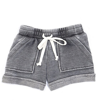 GB Girls Little Girls 2T-6X Active Washed Shorts