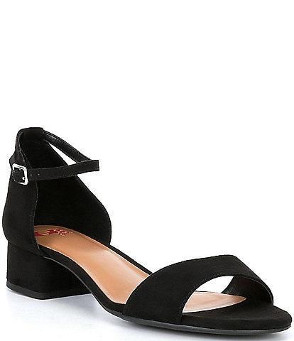 16d2c3cad1a4 GB Girls Block-Girl Microfiber Ankle-Strap Block-Heel Dress Sandals