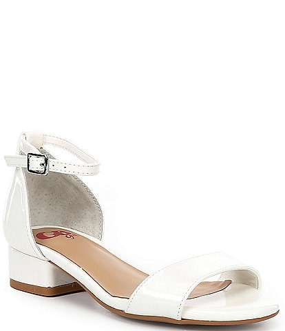 GB Girls' Block-Girl Patent Block Heel Dress Sandals (Youth)
