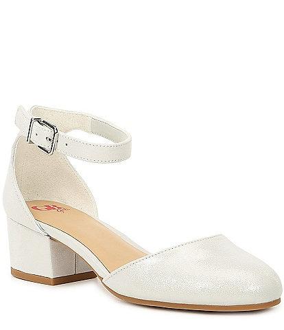 GB Girls' Lianna-Girl Shimmer Dress Heels (Youth)