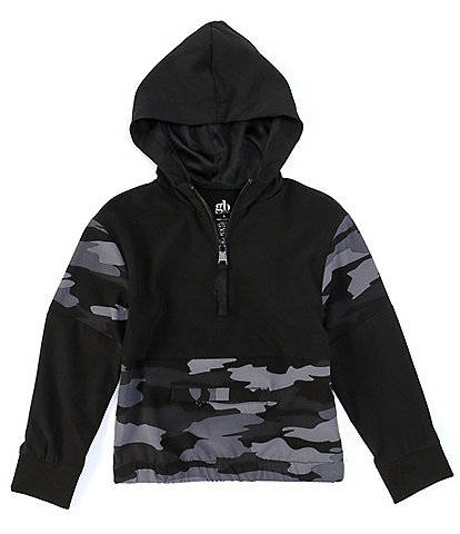 GB Girl's Little Girls 2T-6x Active Camo Pullover