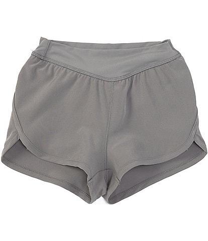 GB Girls Active Little Girls 2-6X Runners Knit Shorts