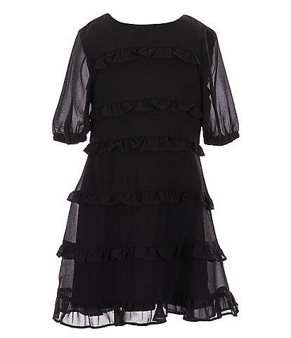 GB Girls Little Girls 2-6X Tiered Ruffle Dress