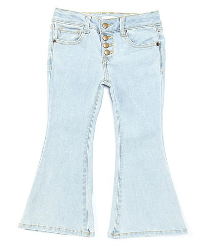 GB Girls Little Girls 2T-6X Faded Flare Denim Jeans