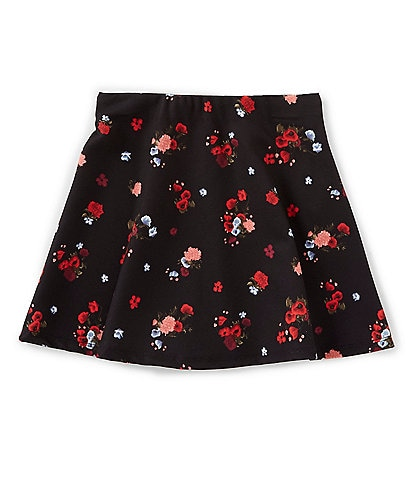GB Girls Little Girls 2T-6X Mini Me Collection Floral-Printed Skirt