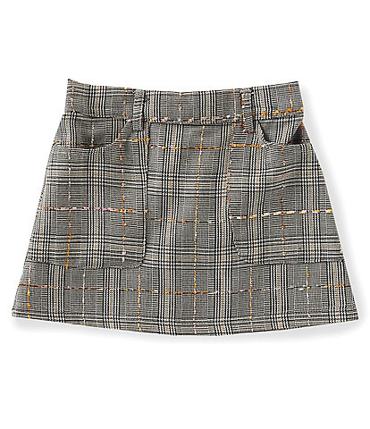 GB Girls Little Girls 2T-6X Porkchop Pocket Menswear Skirt