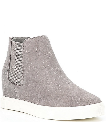 GB Girls' Parti-Girl Glitter Wedge Sneakers (Youth)