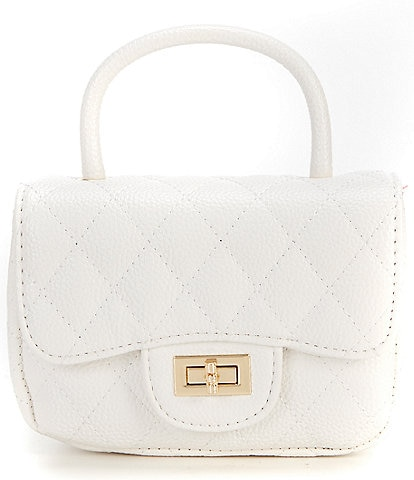 GB Girls Quilted Crossbody Bag