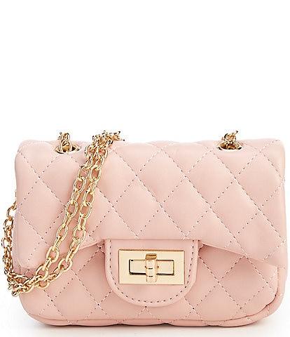 Gb S Quilted Crossbody Handbag