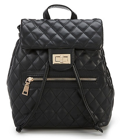 GB Girls Quilted Flap Backpack