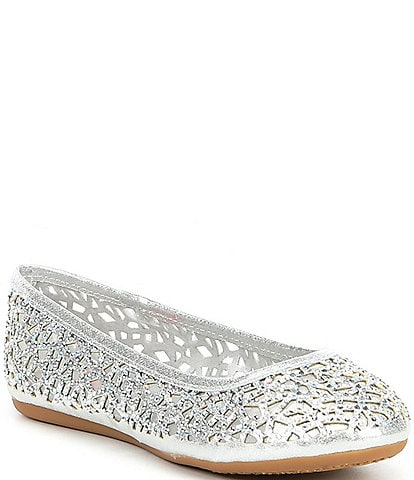 GB Girls' Uptown Girl Bejeweled Flats (Infant)