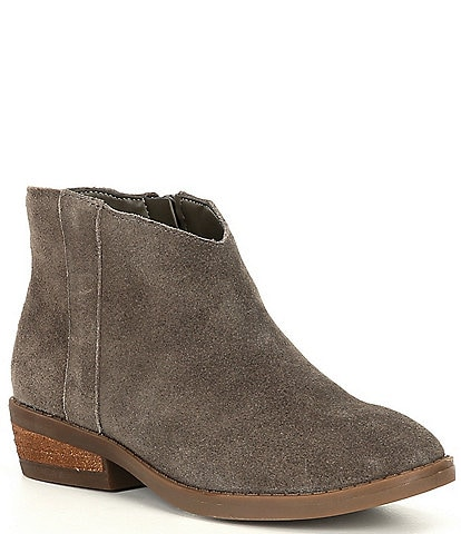 GB Girls' Western-Girl Suede Booties (Youth)