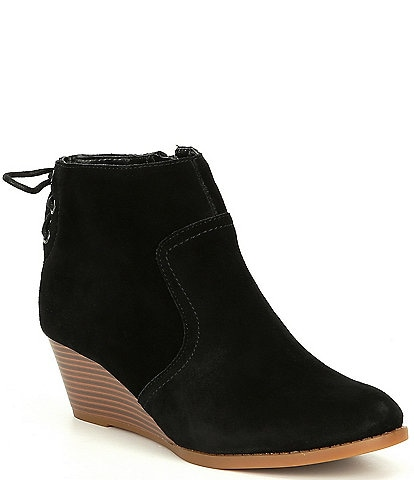 GB Girls Zadie-Girl Lace Back Wedge Bootie