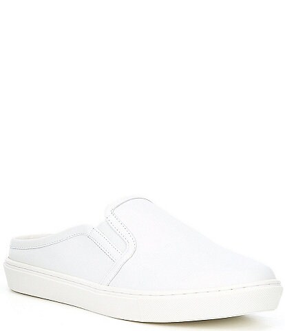 GB Kant-LoseTwo Leather Slip-On Sneakers
