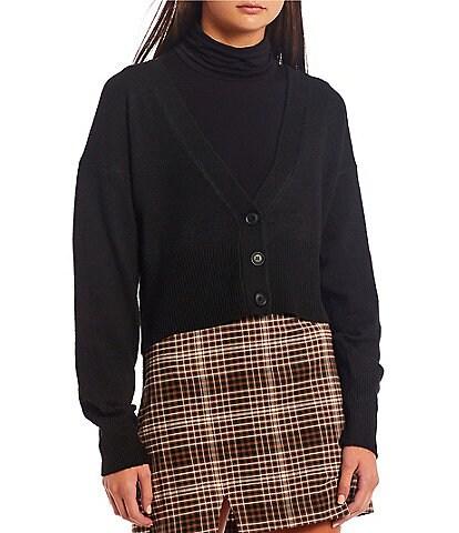 GB Long Sleeve Cardigan Sweater
