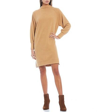 GB Long Sleeve Sweater Dress