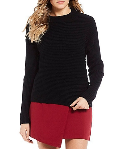 GB Solid Round Neckline Sweater
