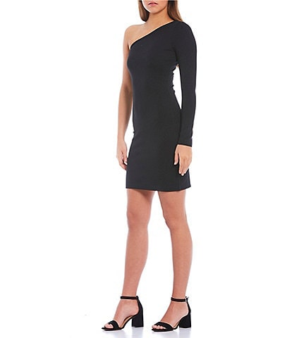 GB One Shoulder Mini Dress