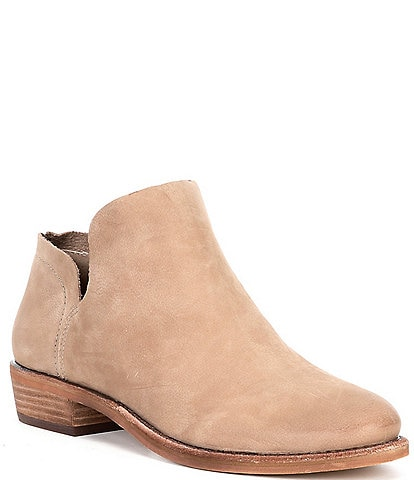 GB Show-Case Casual Block Heel Ankle Booties