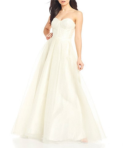 GB Social Strapless Ball Gown