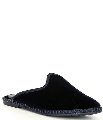 GB Stay-Cozie Velvet Slipper Mules