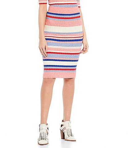 GB Coordinating Striped Skirt