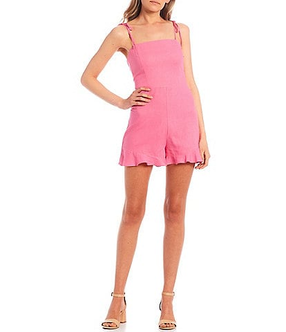 GB Tie Shoulder Romper